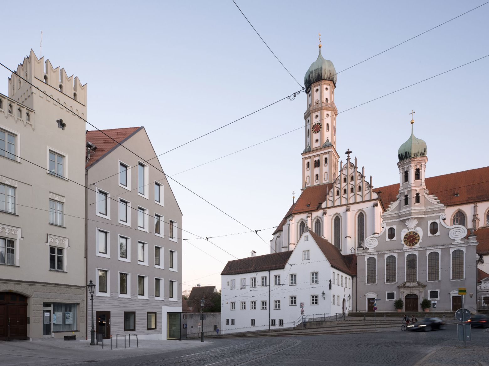 Ansicht Maxburgstraße St Ulrich