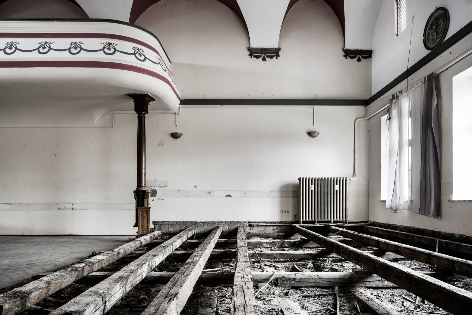 historischer Tanzsaal