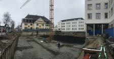 Baubeginn Landratsamt Garmisch Tiefgarage