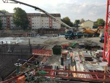 Baubeginn Stargarder Strasse
