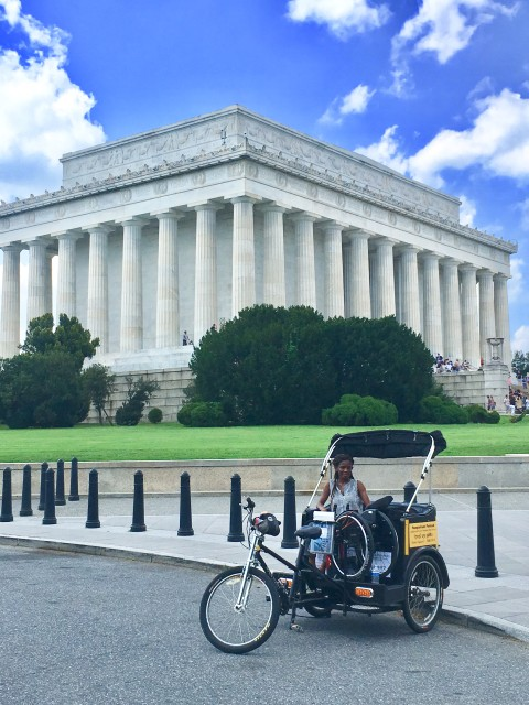 Handicap Accessible Tour at the Lincoln Memorial