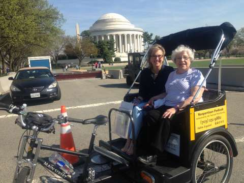 Accessible Tour to the Jefferson Memorial