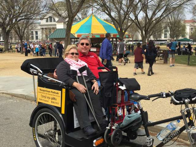 Washington DC Handicapped and Disabled Tours of the National Mall