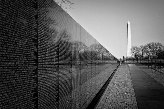 Things to Do in DC — Visit the Vietnam War Memorial
