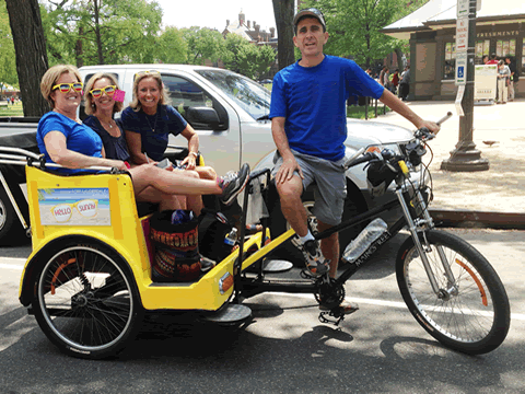 Pedicab Tours Are Fun