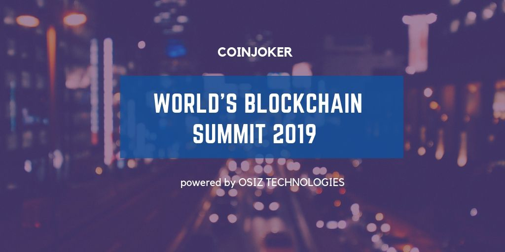 Coinjoker – A Exhibitor of World Blockchain Summit 2019
