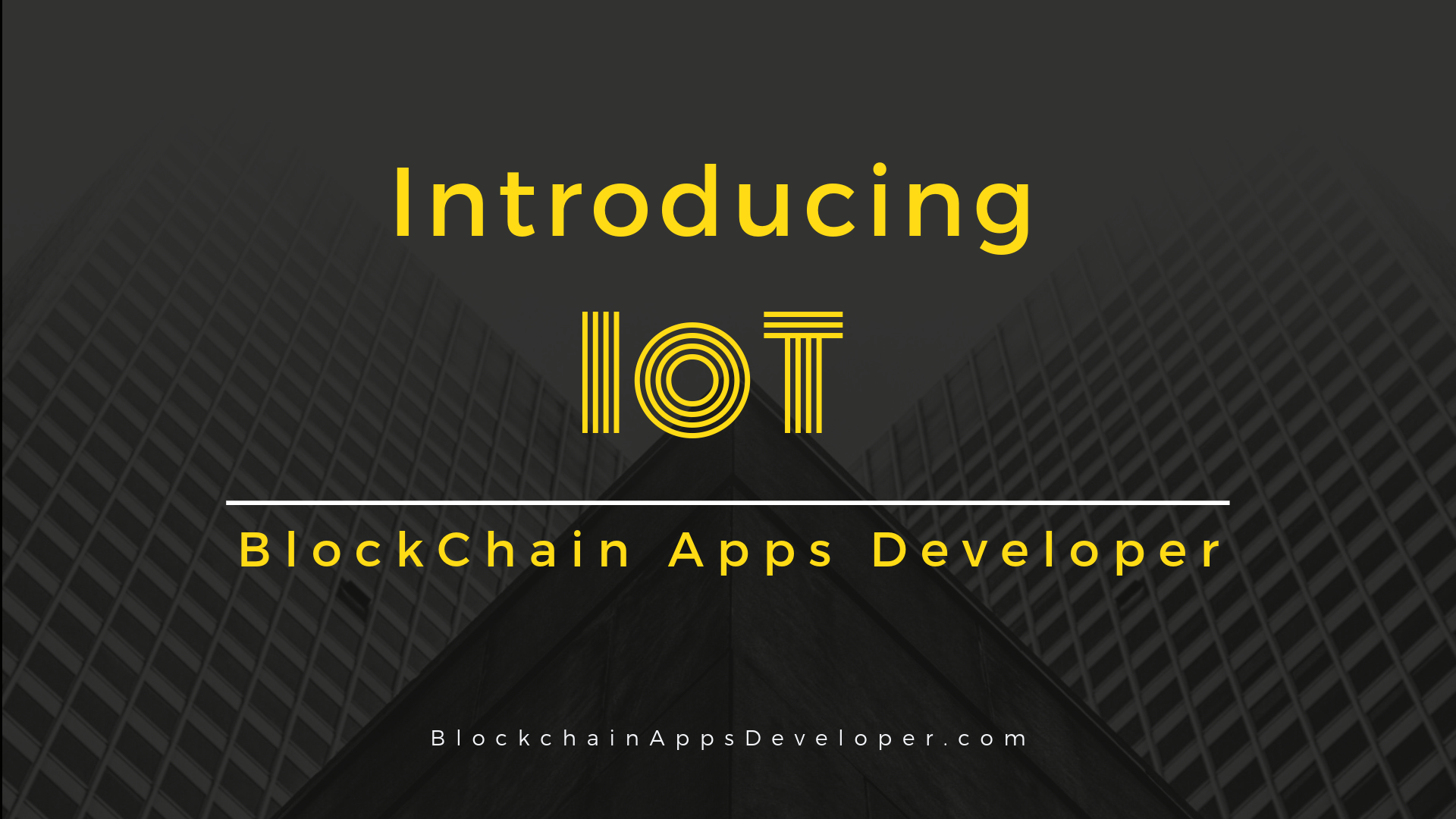 Blockchain-The Game Changer for IoT (Internet of Things)