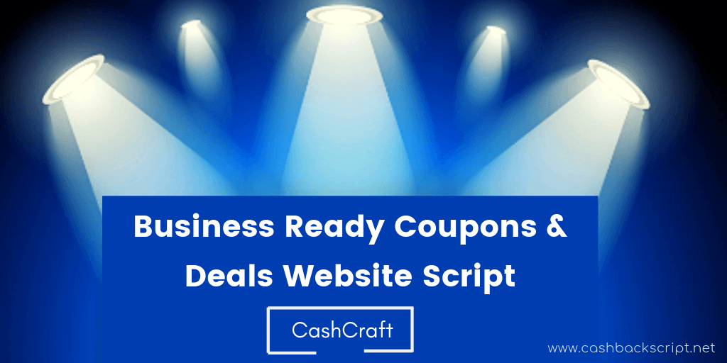 Business Ready Coupons and Deals Website Script