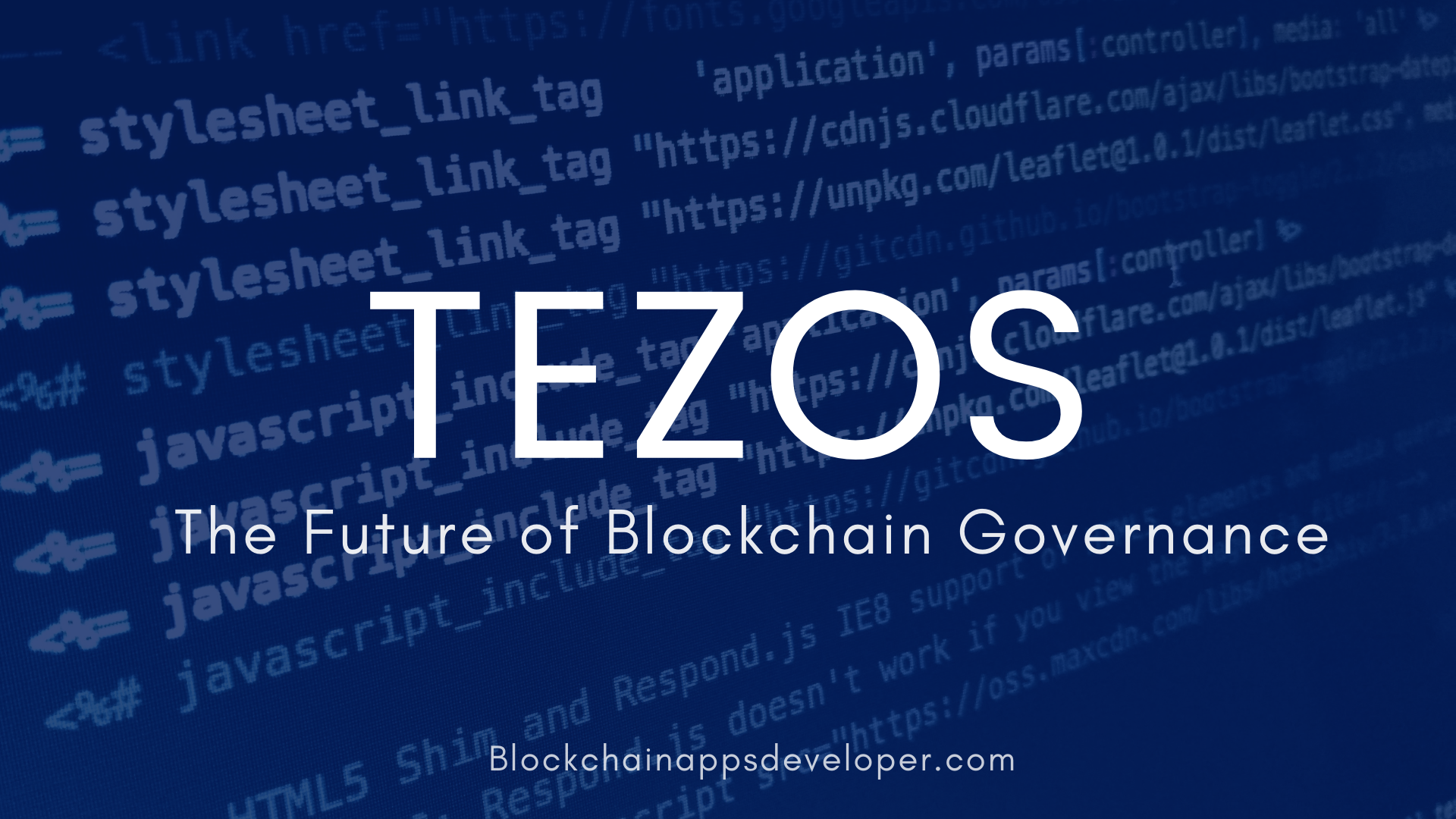 What is Tezos, And Why?