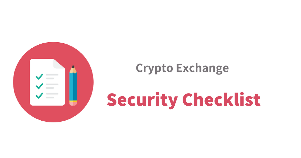 Security and safety measures of crypto exchange platform