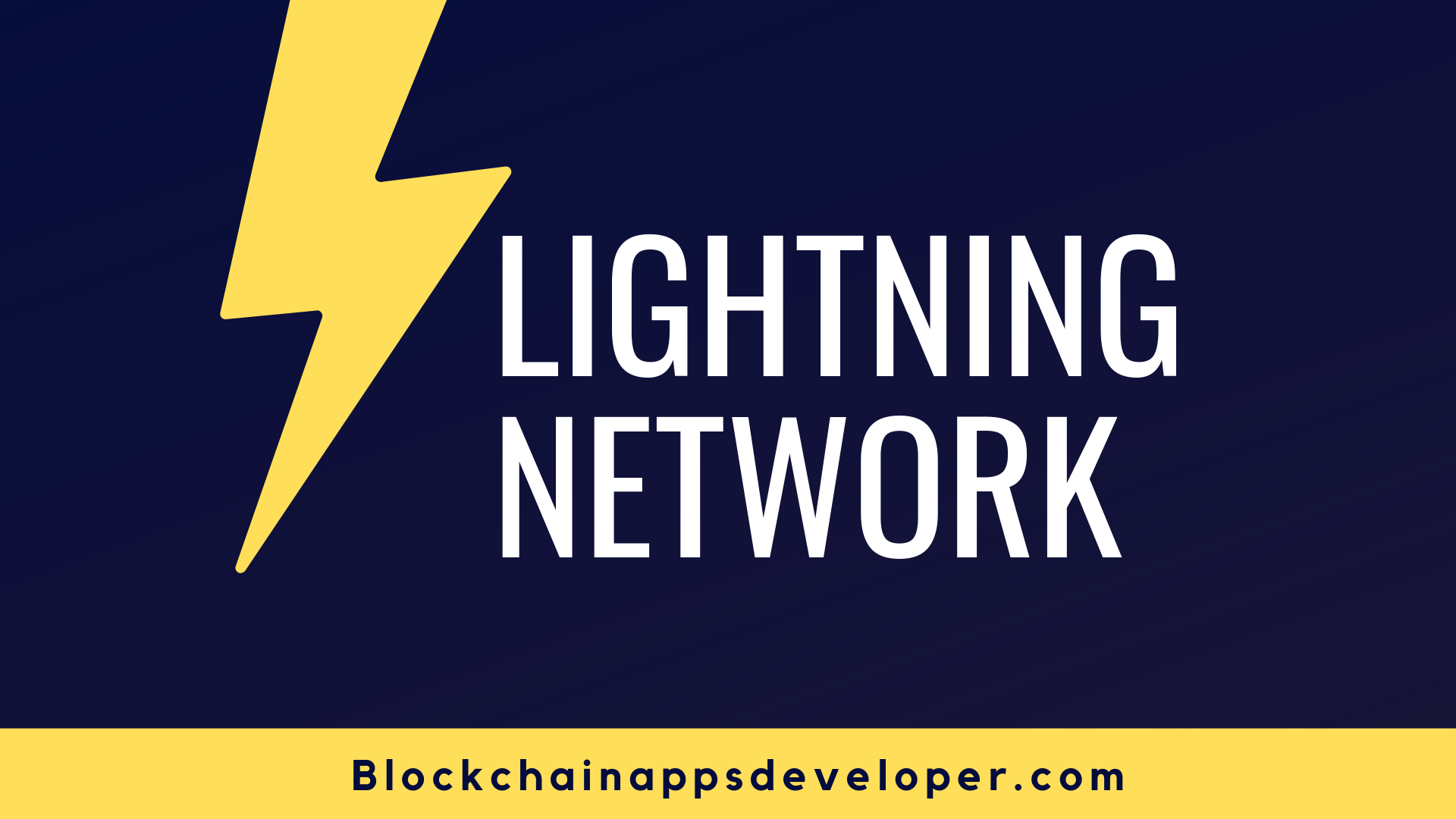 What Is Lightning Network, And Why?