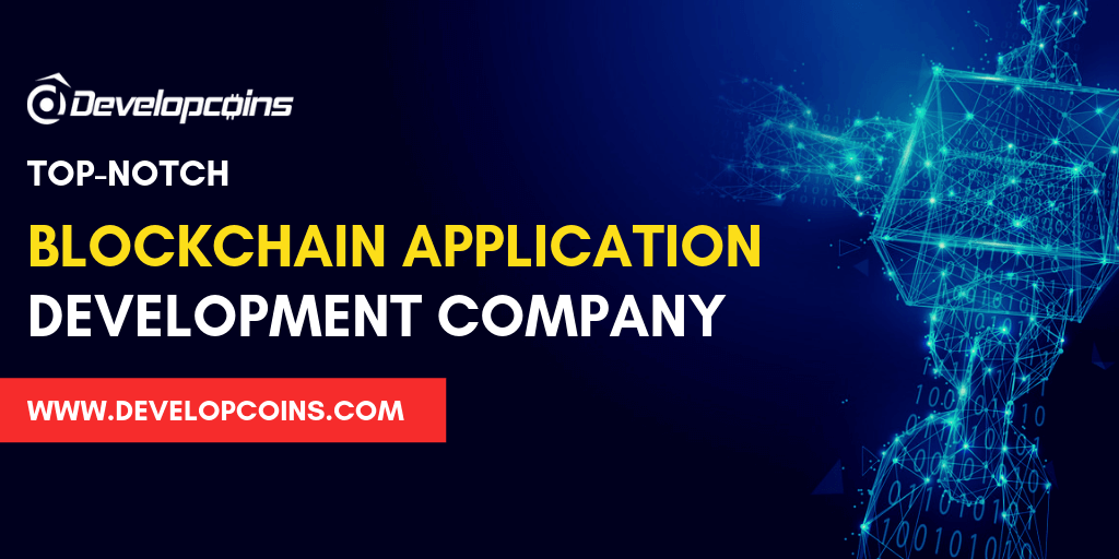 How to build a complete blockchain application with developcoins?