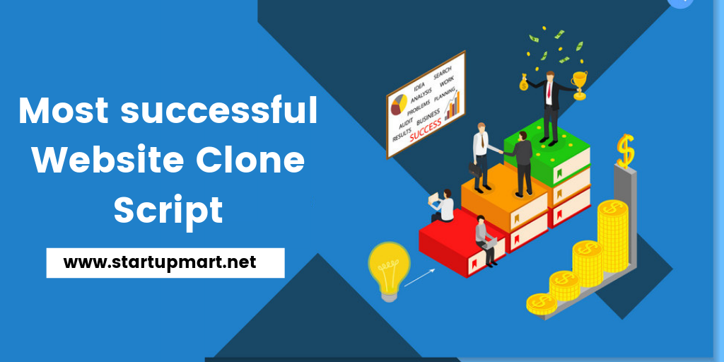 Top Most successful website clone Script