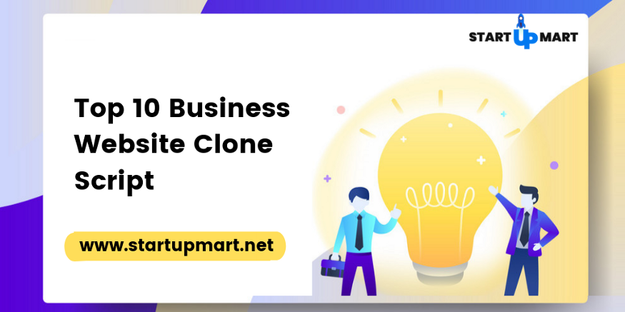 Top 10 Profitable Business Website Clone Scripts.