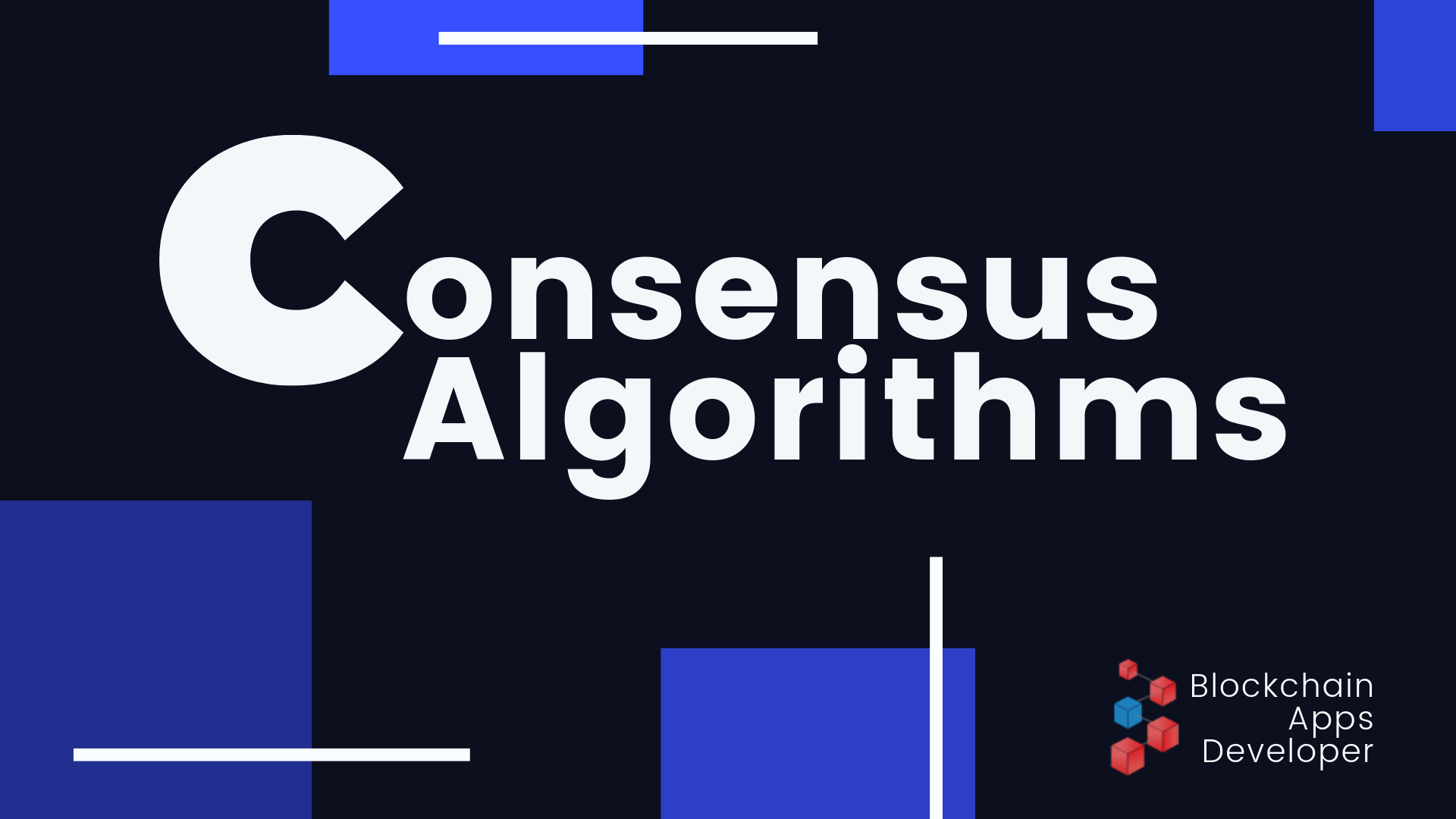 Best Consensus Algorithms for Blockchain Development
