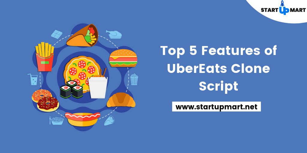Top 5  Most Important Features of  Food Delivery Apps Like UberEats