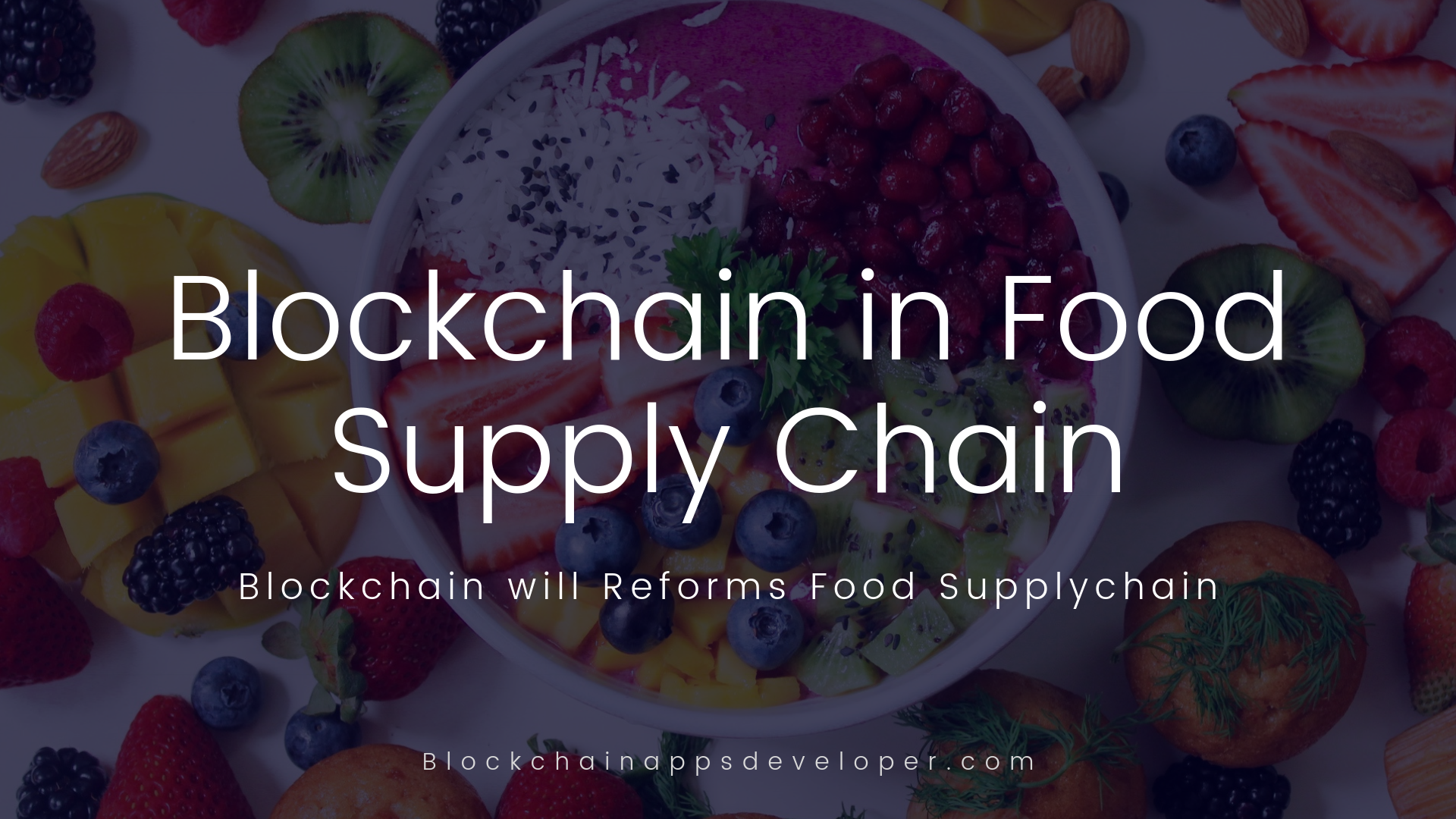 How Blockchain Reform Food Supply Chain?