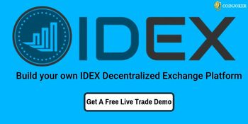 IDEX Clone Script-To Build Secure DEX Platform