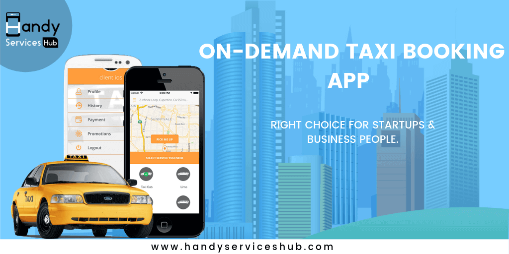Why taxi booking app development is On-Demand?