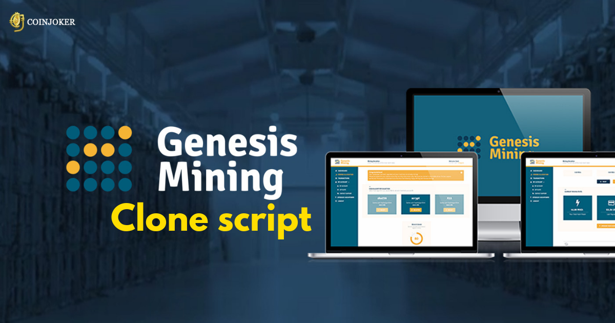 Genesis Mining Clone Script -  Expert Consultation & Development