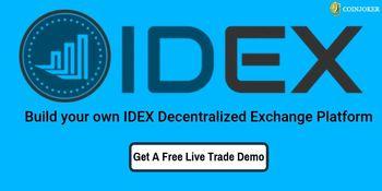 IDEX Clone Script-To Build Secure DEX Platform