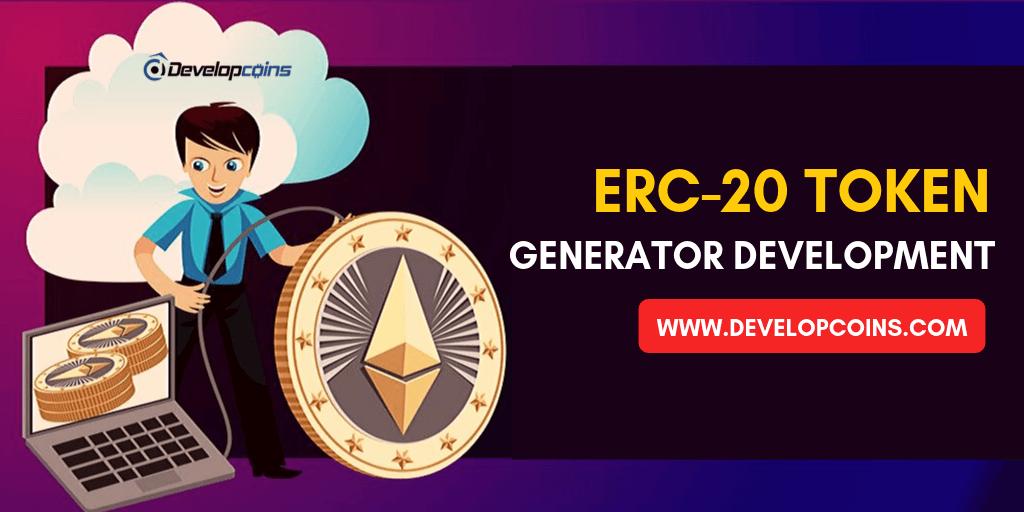 ERC-20 Token Generator Development company