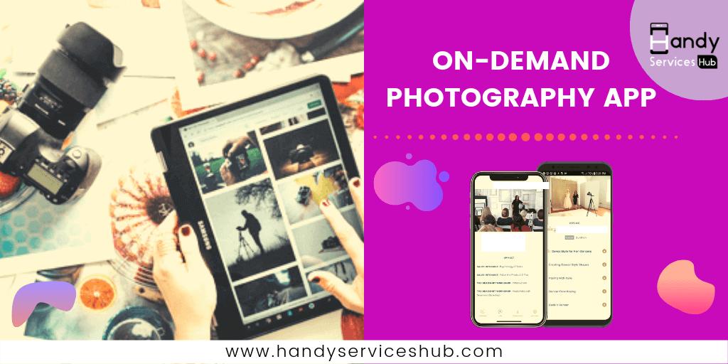 On-Demand Photographer App Development