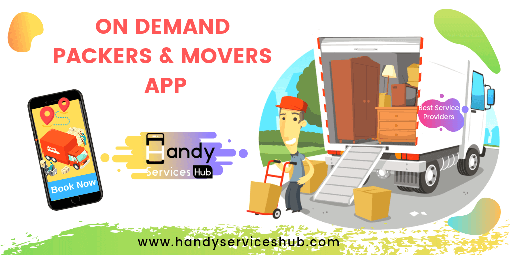 On Demand Packers & Movers App Development