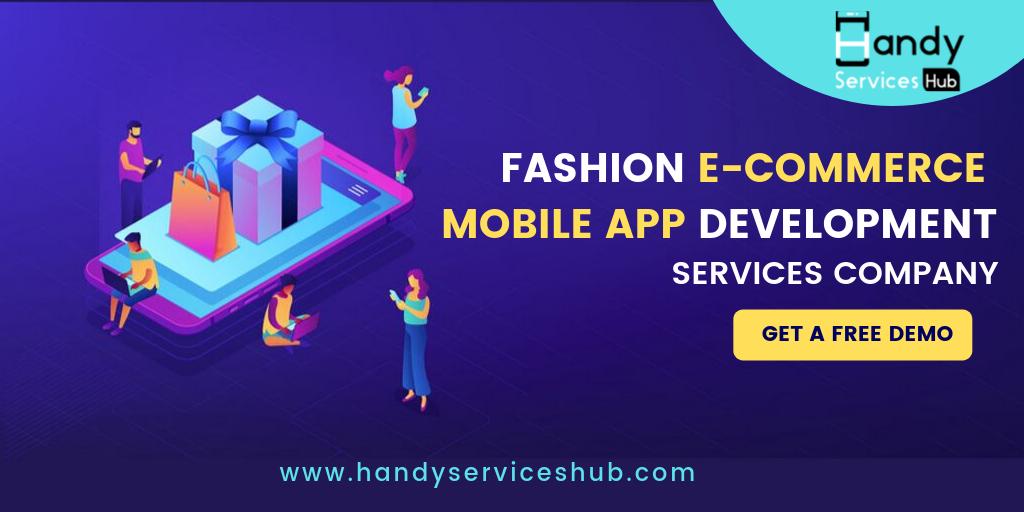 Fashion Ecommerce Mobile App Development Company