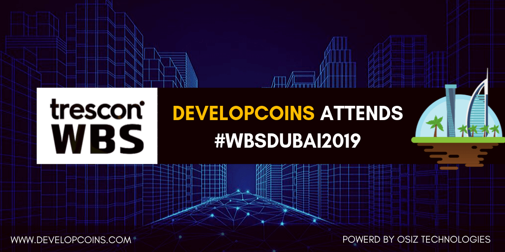Developcoins Stepping Into World Blockchain Summit 2019 in Dubai