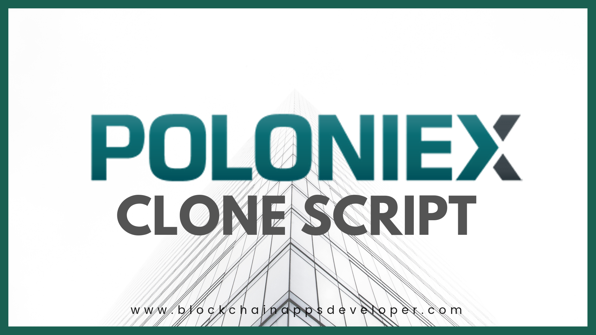 How to Start Exchange like Poloniex?