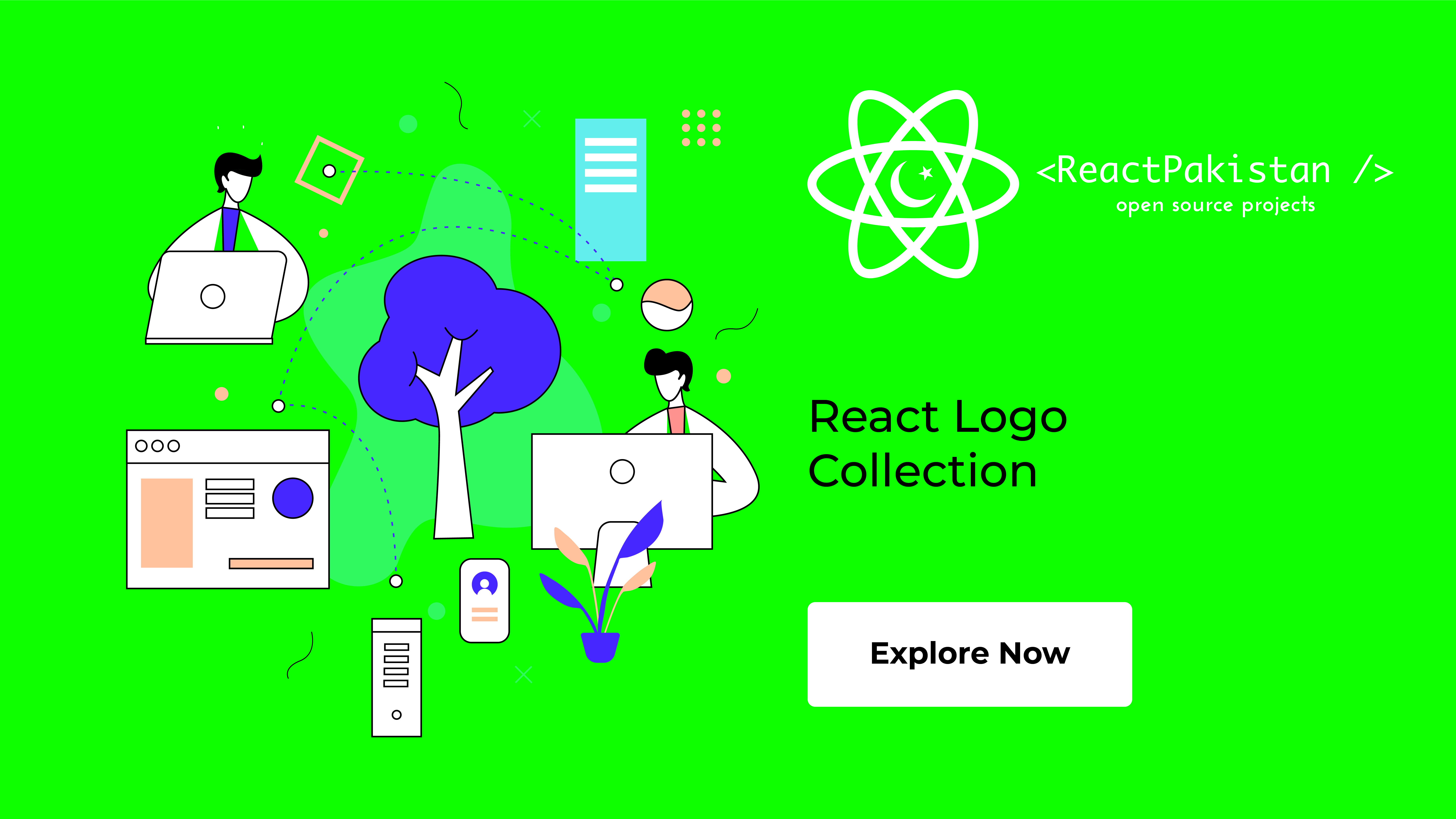 React Pakistan - React Logo Collection