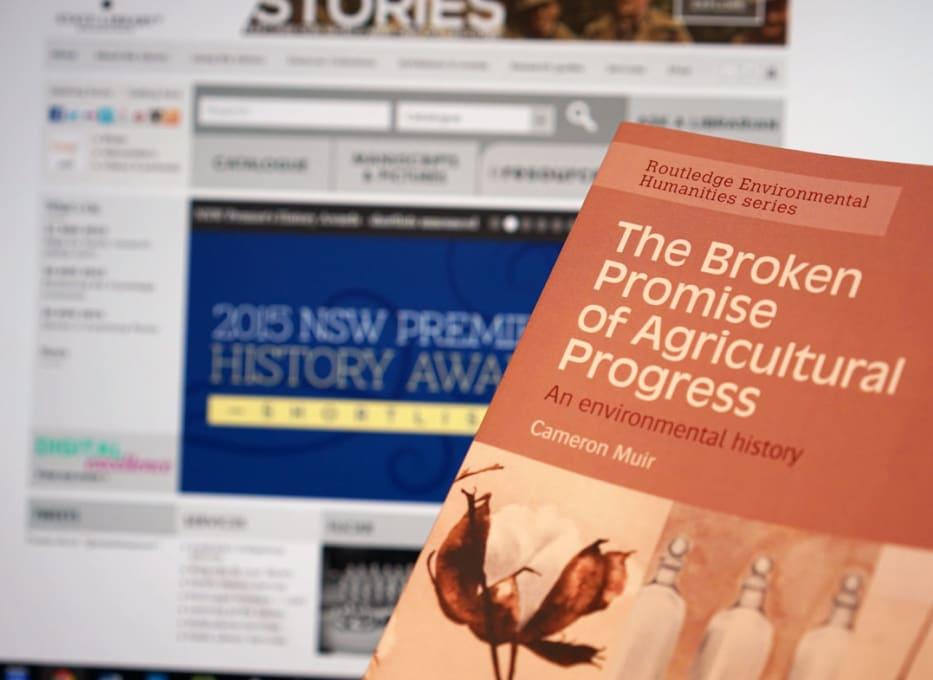 Broken Promise of Agricultural Progress shortlisted