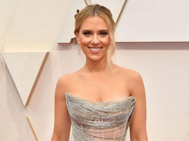 Скарлетт Йоханссон в украшениях за 2,5 млн долларов на церемонии «Оскар»