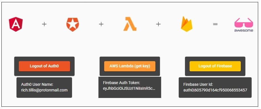 Firebase local login success ><