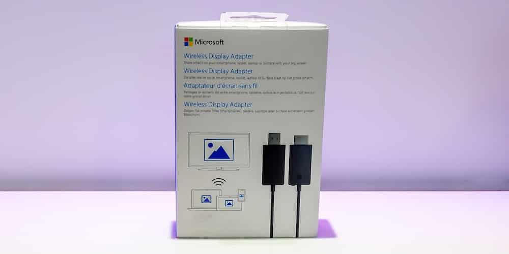 Miracast-Verpackung