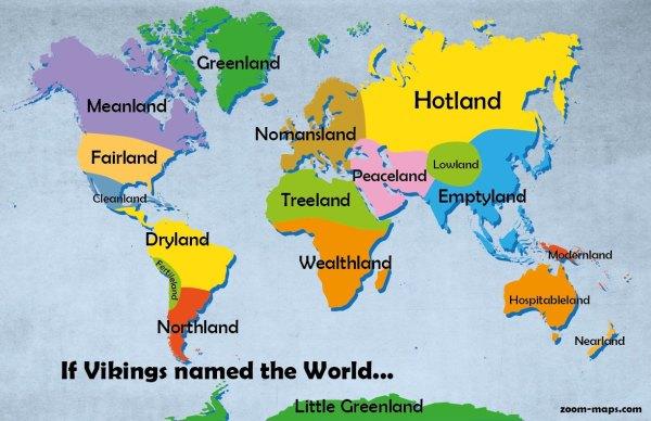 Viking World Map Zoom Maps