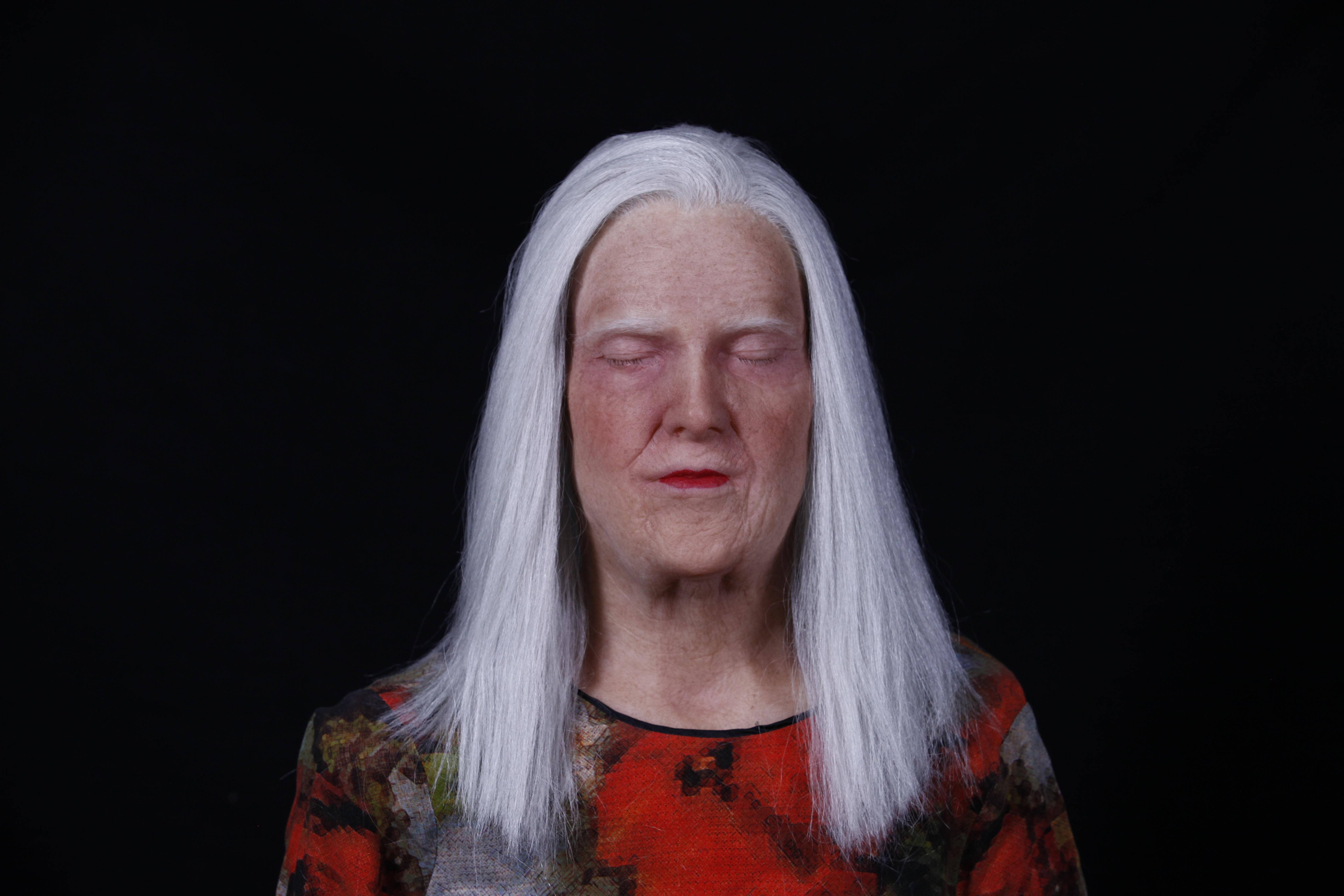 Westerdals Institutt for Film og Medier - Hva må jeg endre anatomisk for å gjøre en ung mann om til en gammel kvinne ved hjelp av silikon proteser