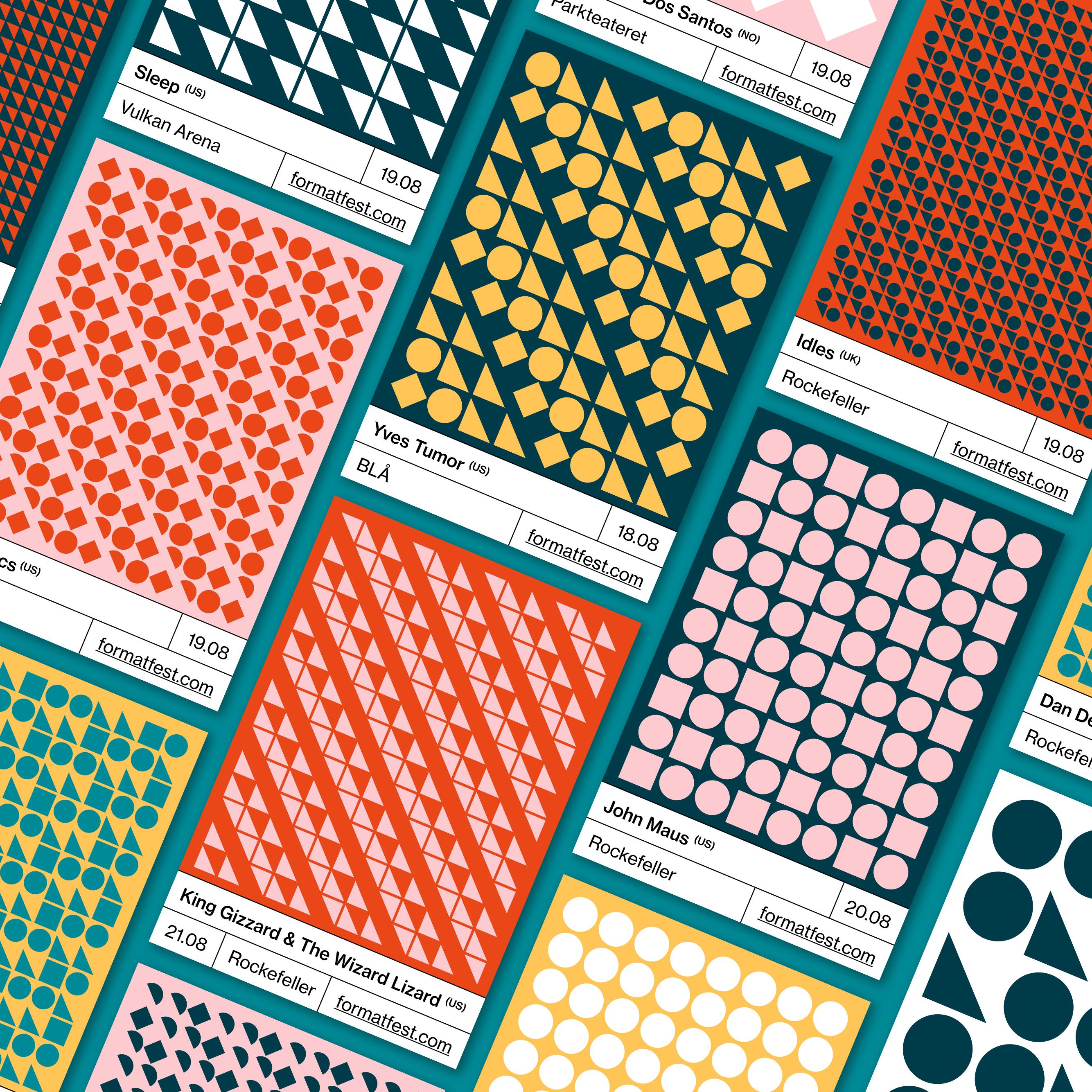 Westerdals Institutt for Kommunikasjon og Design - Festivalidentitet for Format