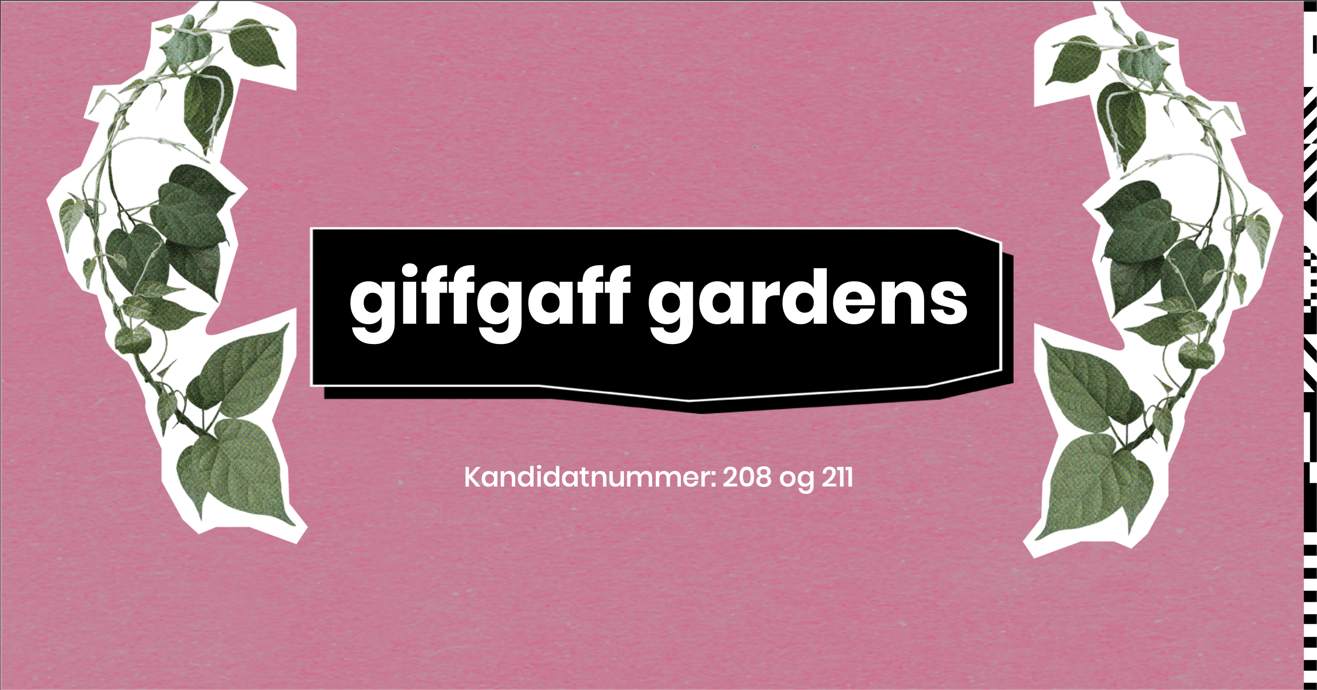 Westerdals Institutt for Kommunikasjon og Design - Giffgaff Gardens