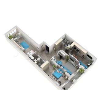 3-к квартира, 92.1 м², 13/24 эт.