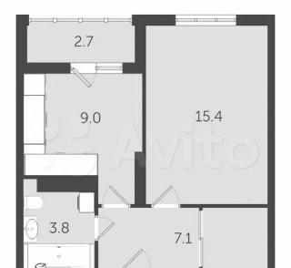 1-к. квартира, 38,2м², 6/24эт.
