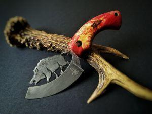 Nóż kolekcjonerski - K 19 - Boar