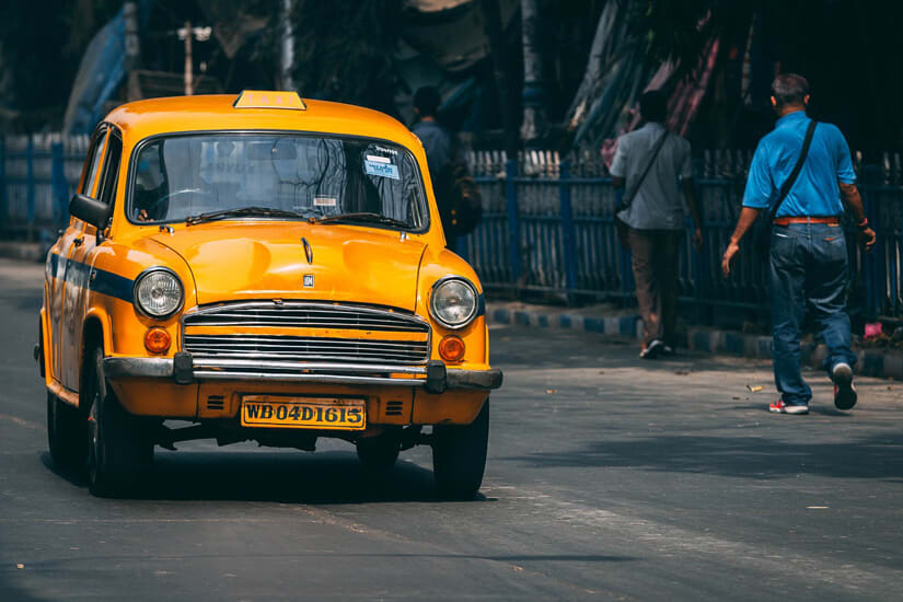 Taksówkarz - samochód
