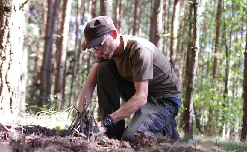 Survival - biwakowanie w lesie