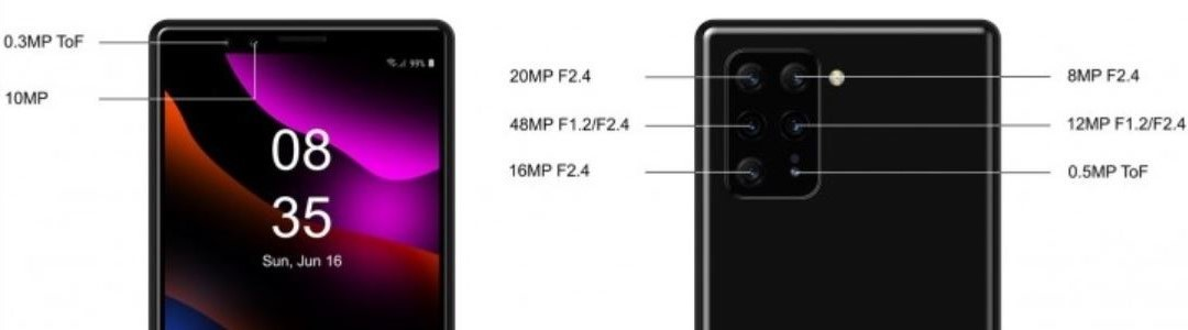 The rumored Sony Xperia render