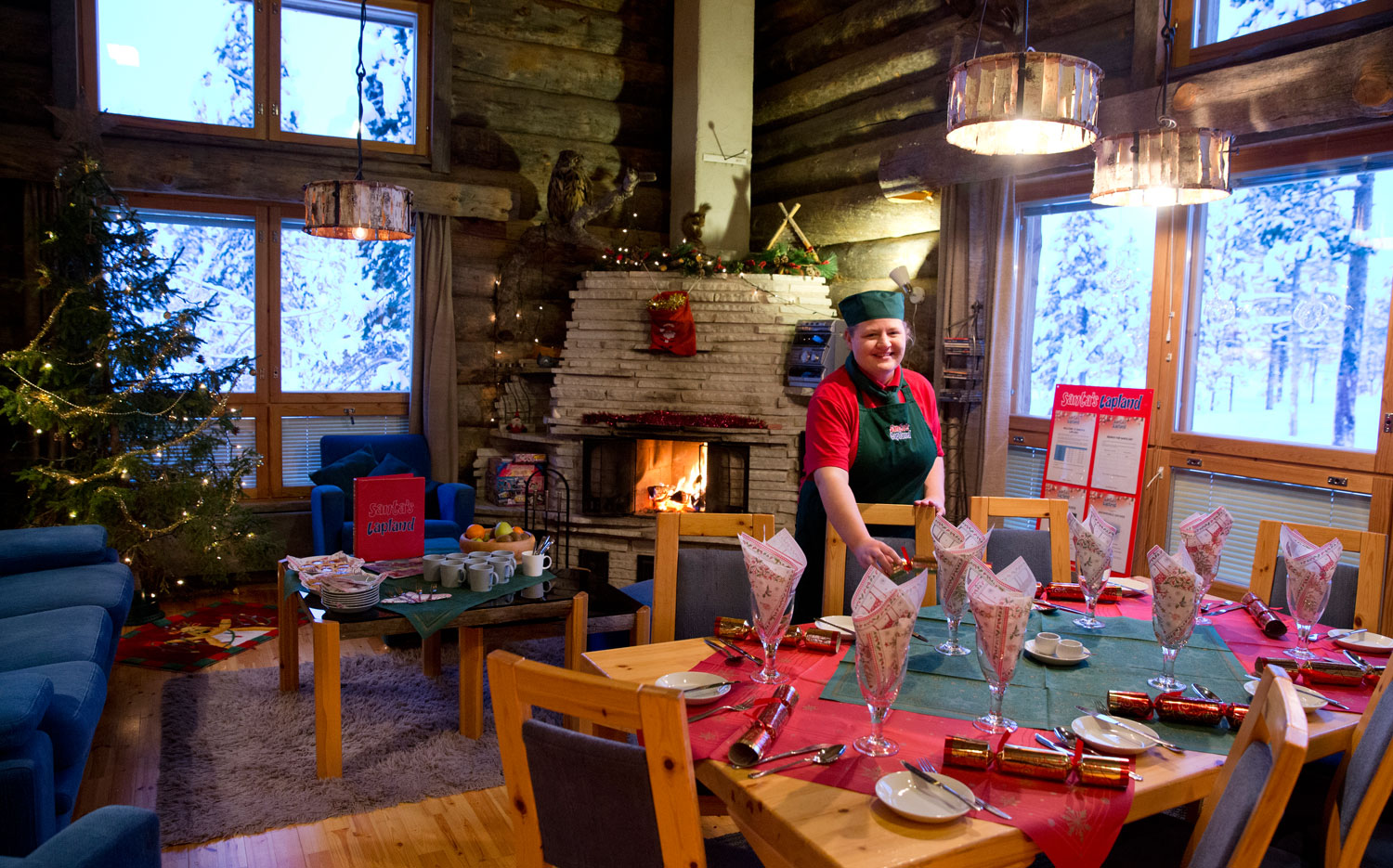 Christmas Cabins - Welcoming Host
