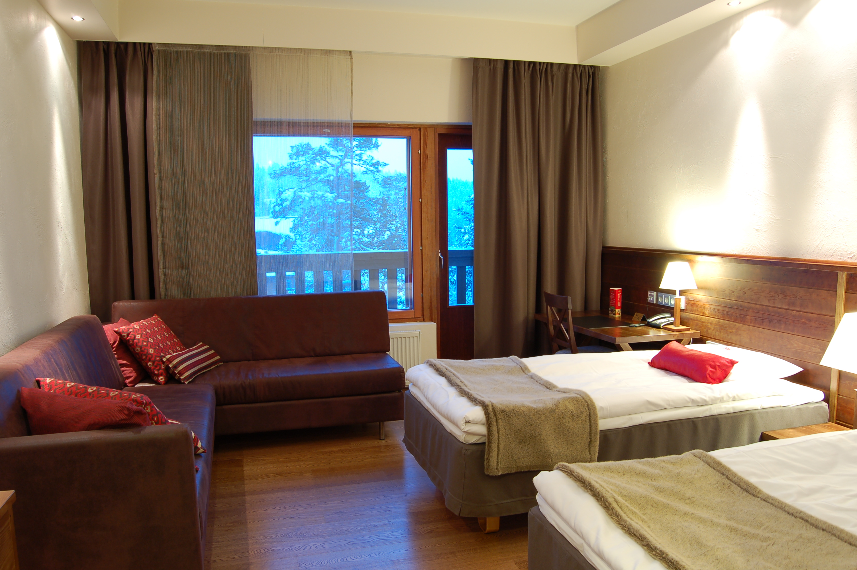 Tunturi Hotel - Gielas Room