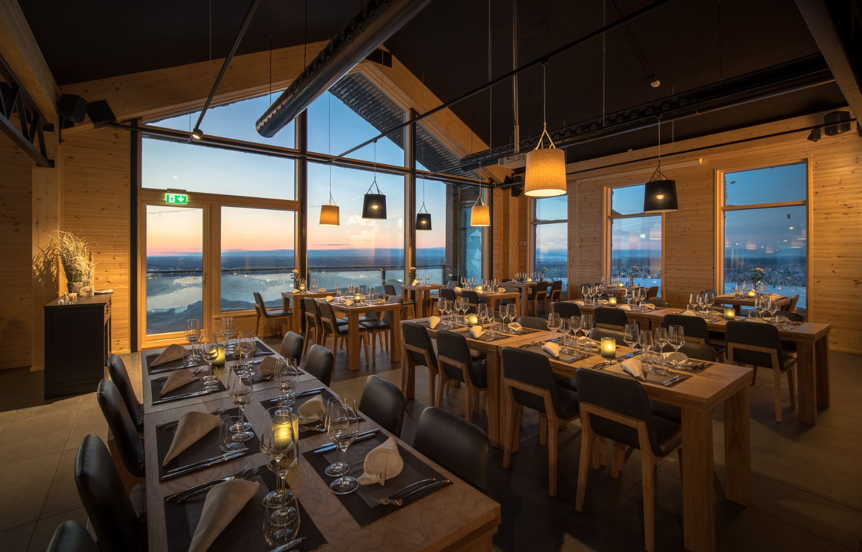 Santa's Star Arctic Hotel - Restaurant