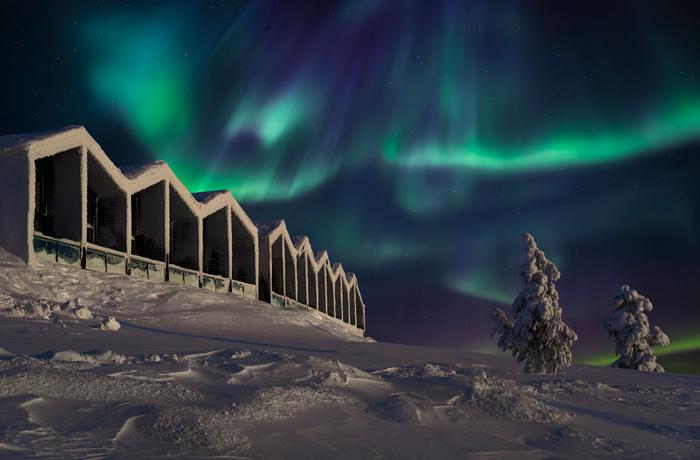 Santa's Star Arctic Hotel   Santa's Lapland   Santa's Lapland Accommodation